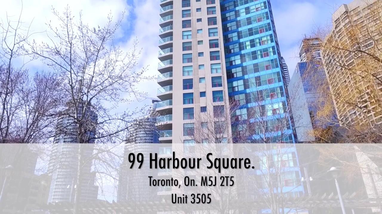 99 Harbour Square Toronto On M5J 2T5 Unit 3505 HD Virtual Tour