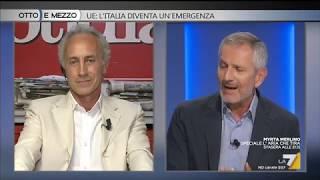 Otto e mezzo - UE: l'Italia diventa un'emergenza (Puntata 11/06/2019)