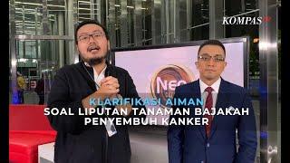 Jurnalis Kompas TV, Aiman Witjaksono mewawancarai Anggina Rafitri dan Aysa Maharani, siswa SMA Neger.