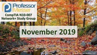 Professor Messerand39s Network Study Group - November 2019