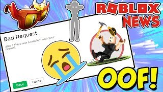 ROBLOX NEWS: Roblox Is Broken for A WEEK?! & Catalog Updates