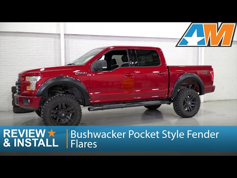 Fits a 15-17 F150 W//STOCK FLARES FENDER TRIM WHEEL WELL MOLDING