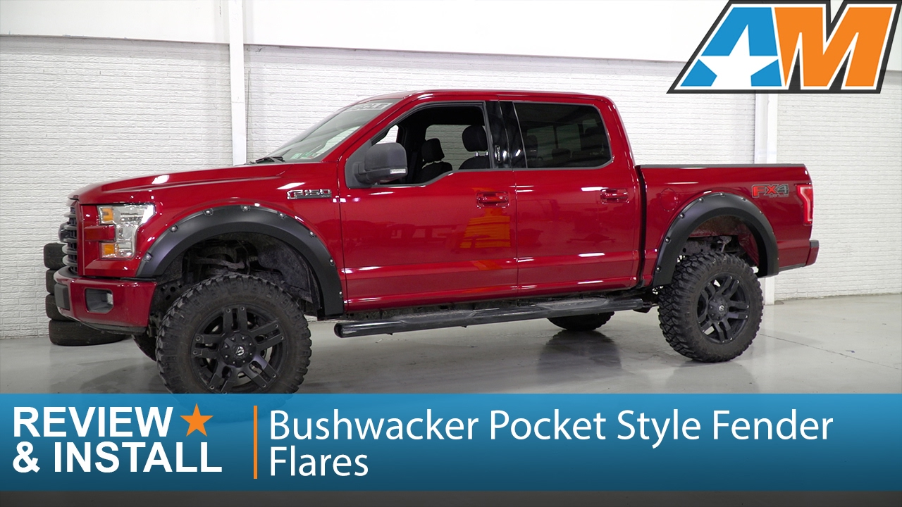 2016 Ford F250 >> 2015-2017 Ford F-150 Bushwacker Pocket Style Fender Flares Review & Install - YouTube
