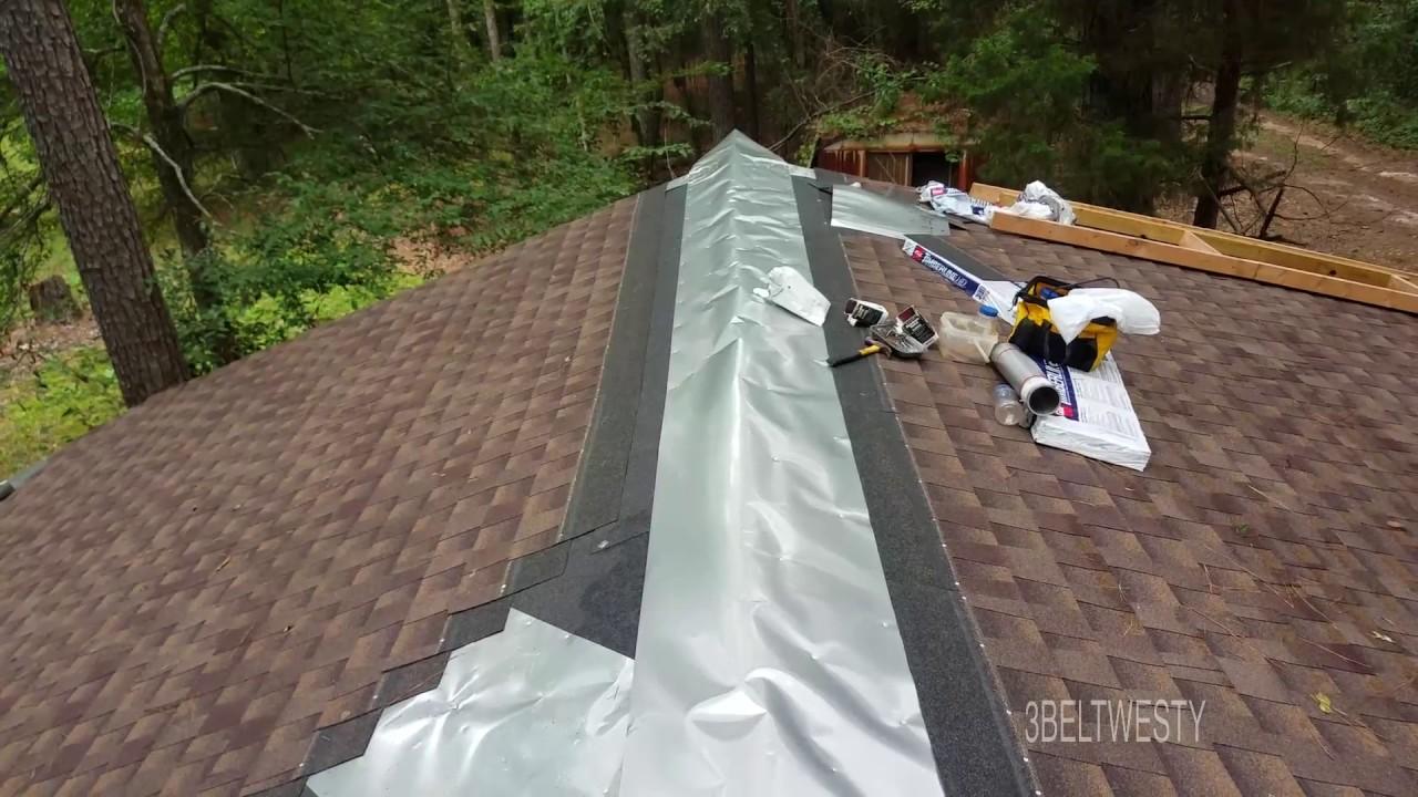 Aluminum Radial At Roof Eve Gaf Shingles Vertical Antenna