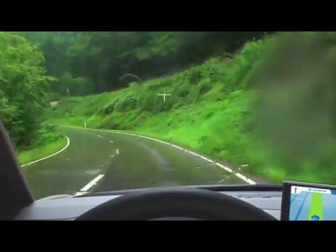Как видит водитель с глаукомой.