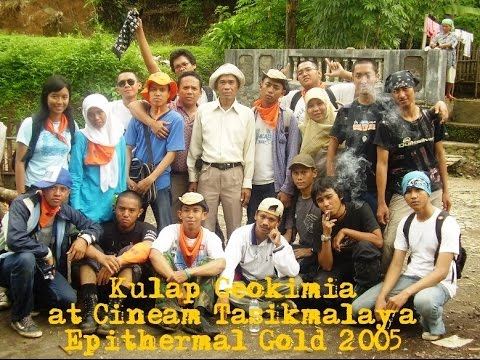Geological Field Trip (Chemistry) in Cineam Gold Mine