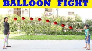HOLI BALLOON GAME || HOLI KIDS MASTI || PICHKARI #Balloon PARTY #Kids #Masti