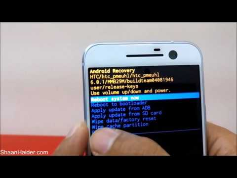 FORGOT PASSWORD : How To Unlock And Hard Reset HTC 10