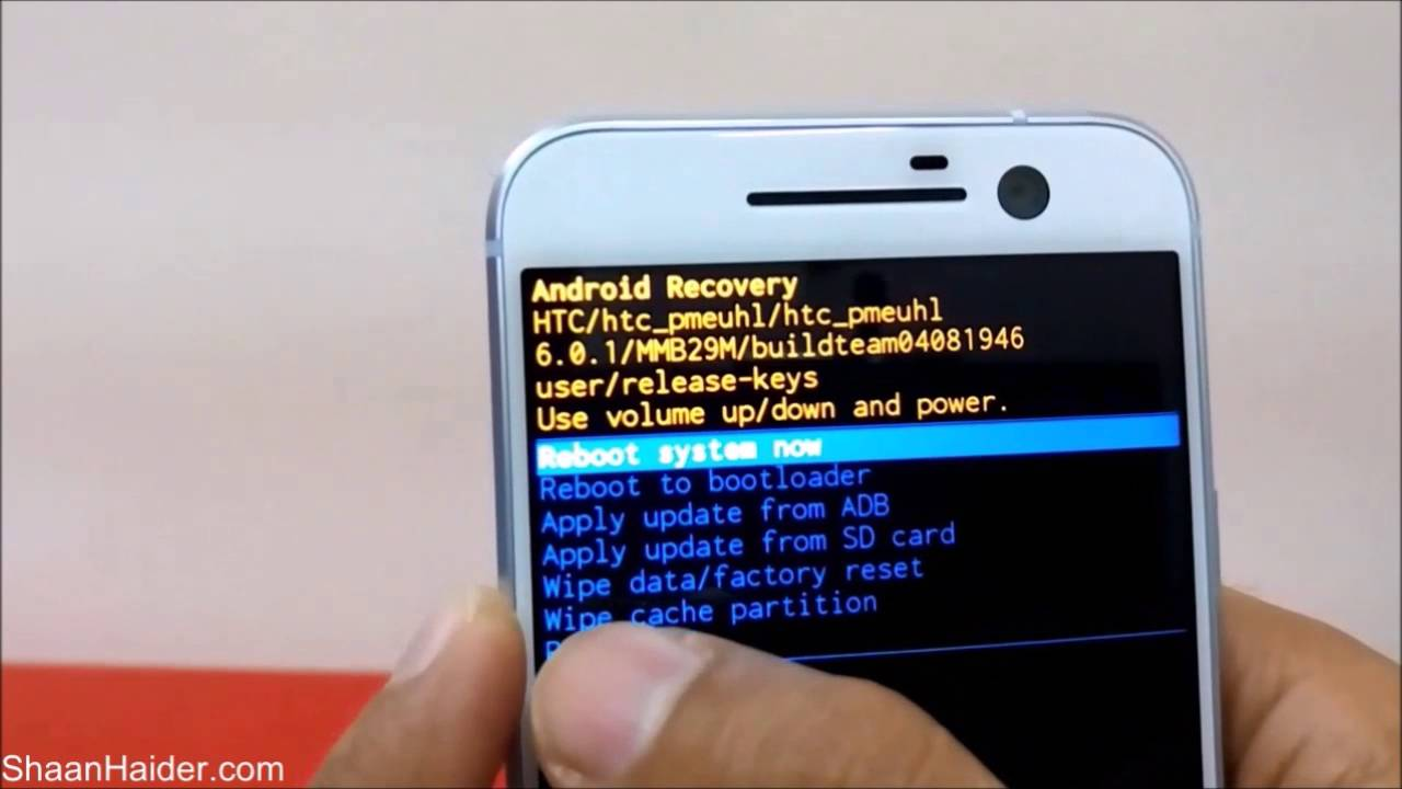 How to unlock a htc phone forgot password