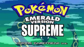 Pokemon Supreme Emerald GBA ROM Hack Trailer and Download