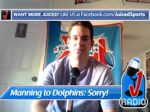 Manning says no to Dolphins. Who