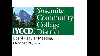 Board Regular Meeting, October 20, 2021 screenshot 3