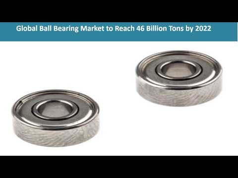 Global Ball Bearing Market Share, Size, Growth Trends And Research Report 2017-2022
