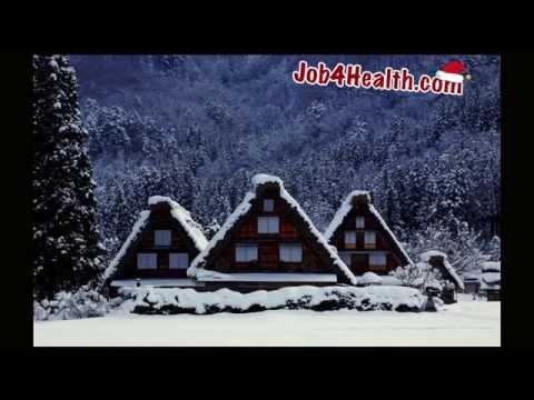 Слайд шоу красивых фотографий зимних пейзажей, поздравление с Новым годом и Рождеством с фото