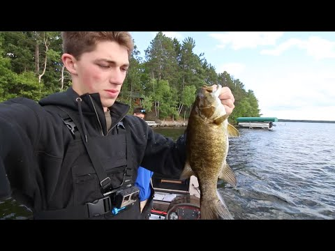 Smallmouth Bass & Black Bears -- Wisconsin VLOG No. 2