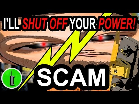 Finally Baiting A Ridiculous Electric Bill Scammer! - The Hoax Hotel