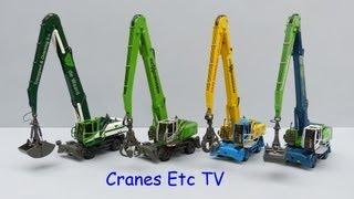 NZG Sennebogen 835M Material Handler by Cranes Etc TV