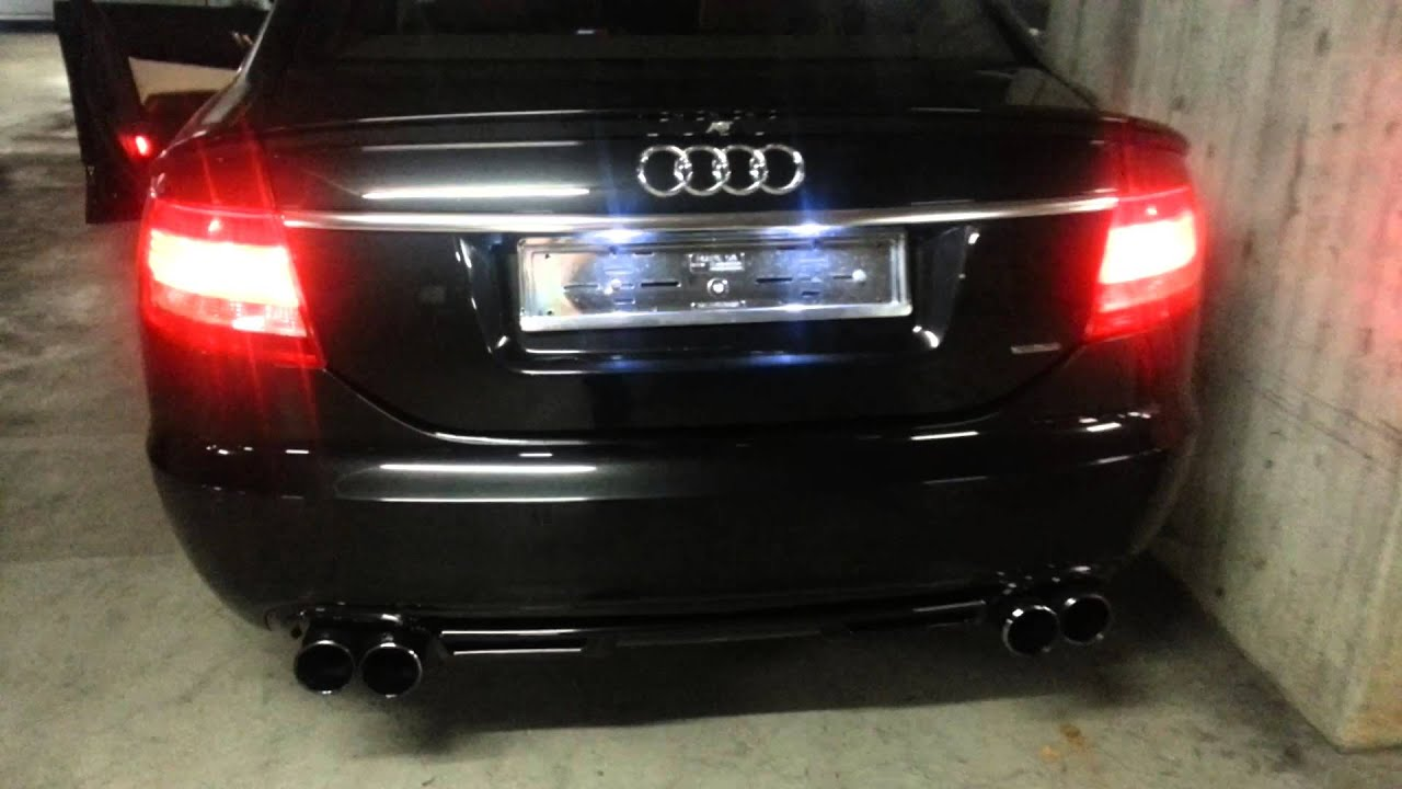 my audi a6 3 0 tdi quattro abt w abt exhausts rev youtube. Black Bedroom Furniture Sets. Home Design Ideas