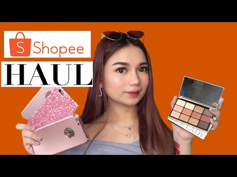 My Shopee Pee Pee Pee Haul (Makeup, Sunglasses, Belts, Etc)