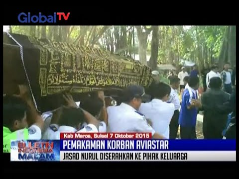 Jenazah Nurul Fatimah Korban Aviastar Dimakamkan Di Maros, Sulawesi Selatan - BIM 07/10