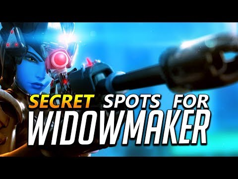 Widowmaker Tips - Secret Spots and Flanks