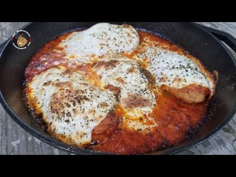 One Skillet Chicken Parmesan Recipe
