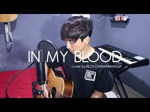 """Shawn Mendes """"In My Blood"""" (Cover By Reza Darmawangsa)"""