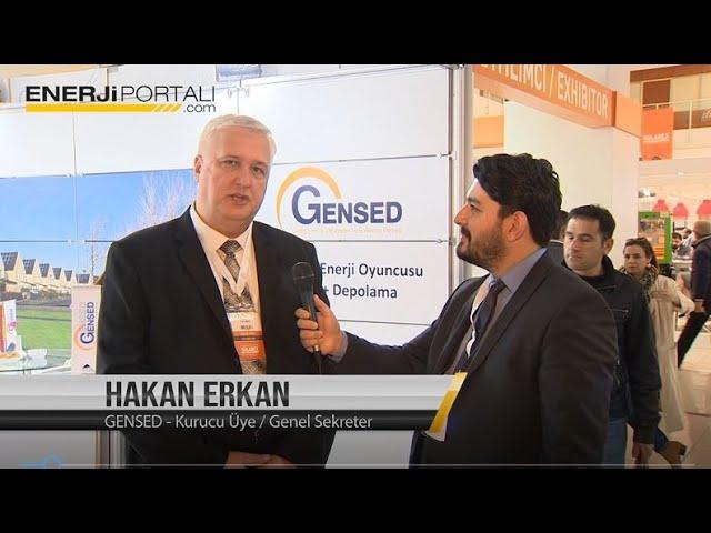 GENSED - Hakan Erkan - Solarex 2019 Enerjiportalı Röportajı