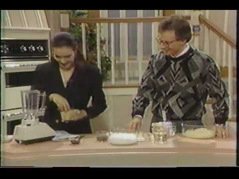 Carole Bouquet Interview and Cooking 1987