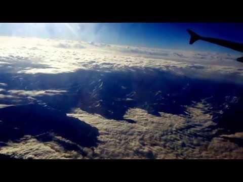 Mountains and clouds. Meditation music raga Bhairavi.