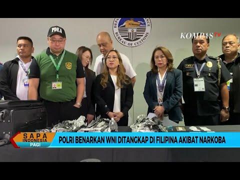 WNI Bawa 8 Kg Sabu, Polri Hubungi Polisi Filipina