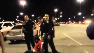 Video Oklahoma police beat Luis Rodriguez to death in front of theater in front of wife & daughter download MP3, 3GP, MP4, WEBM, AVI, FLV September 2017