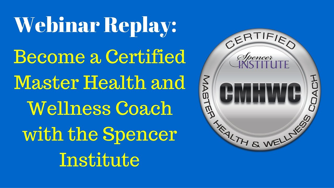 Master Health And Wellness Coach Certification Youtube