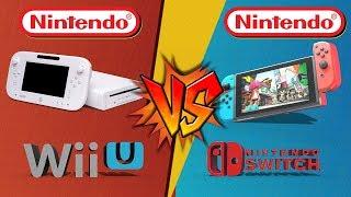 Wii U vs Nintendo Switch   ¿Cual es mejor?   Batalla de consolas