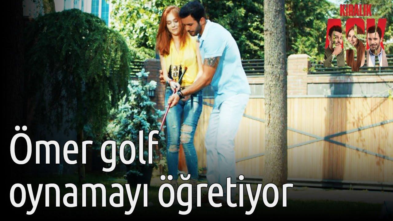 Kiralık Aşk - Ömer Golf Oynamayı Öğretiyor