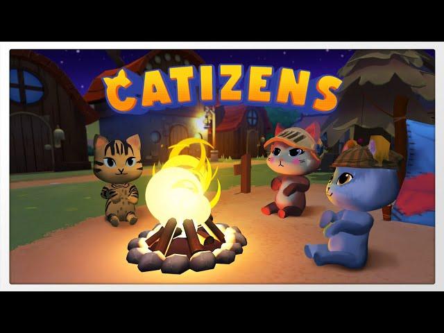 Uma ótima proposta de gerenciamento - Catizens - Gameplay 1080p 60fps