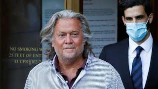 Trump grants clemency to former advisor Steve Bannon in final round of pardons