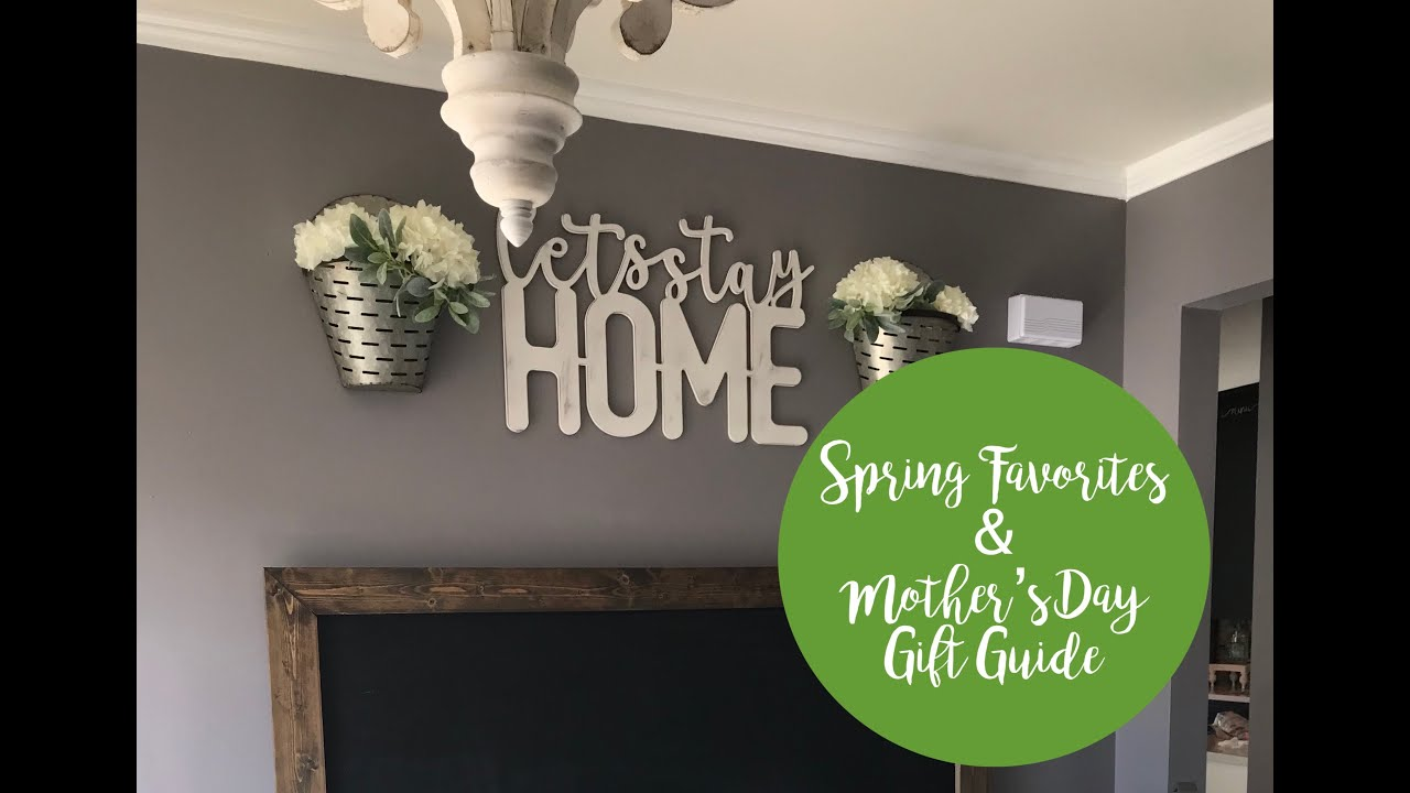 [VIDEO] - Spring Decor & Fashion Favorites | Mother's Day Gift Ideas | 2019 9