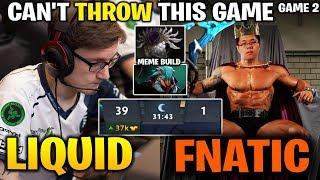 LIQUID vs FNATIC TI8 [Game 2] CAN