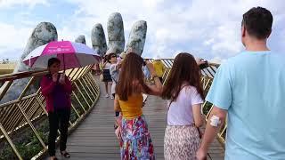 Мій В'єтнам! Частина 6 (друга частина поїздки в Ba Na Hills, Золотий міст - Golden Bridge, Danang).