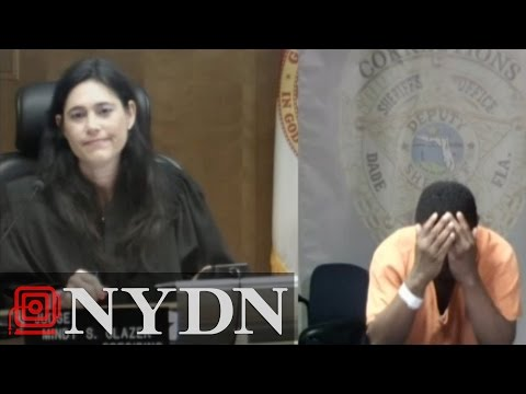 Florida judge recognizes old school friend in court