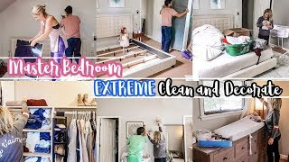 NEW! EXTREME DEEP CLEAN AND DECORATE | MASTER BEDROOM