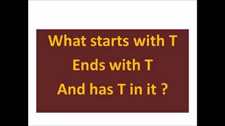 Tricky Riddle with answer | Riddles in English-1