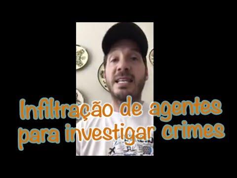 Infiltração de agentes para investigar crimes