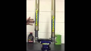 Motorcross and supercross suspension at shocktech. The difference between genuine and SKF seal