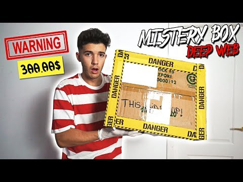 BUYING A REAL INSANE MISTERY BOX OFF THE DARK WEB *WEIRD*!!