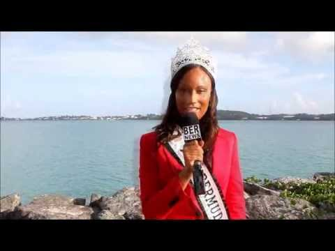 Miss Bermuda Departs For China, July 18 2012