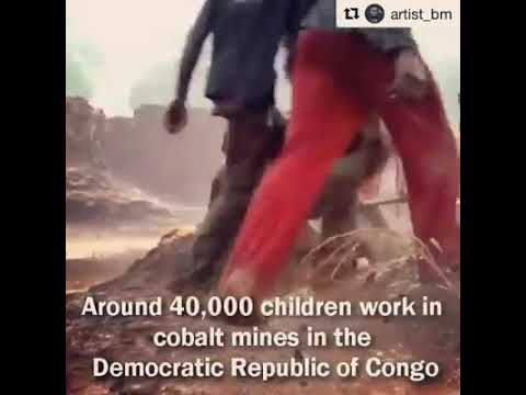 """""""No Congo No phone. Children from the DR of Congo."""