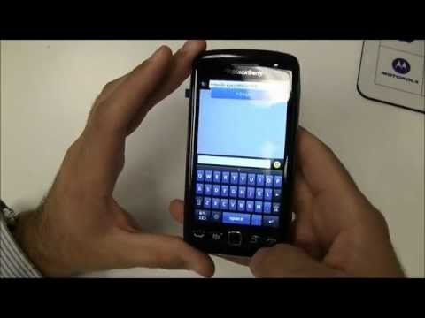 Official Blackberry Torch 9860 Unboxing & Turn On (1080p HD)