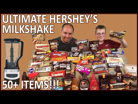 Ultimate Hershey's Milkshake, 50+ items!! : Crude Brothers